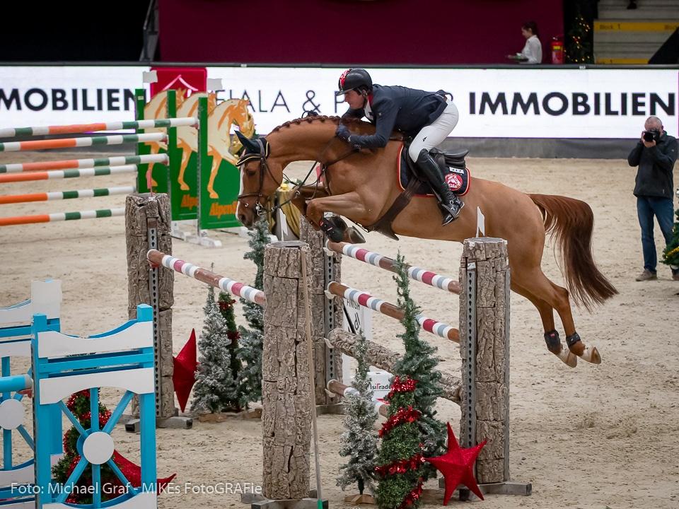 Bester Österreicher in der Murhof Trophy am Samstagnachmittag in der Salzburgarena war dank einer wirklich tollen Runde Fixkraft-Peter Englbrecht (AUT/OÖ) mit Ultimus auf Rang 4. © Michael Graf
