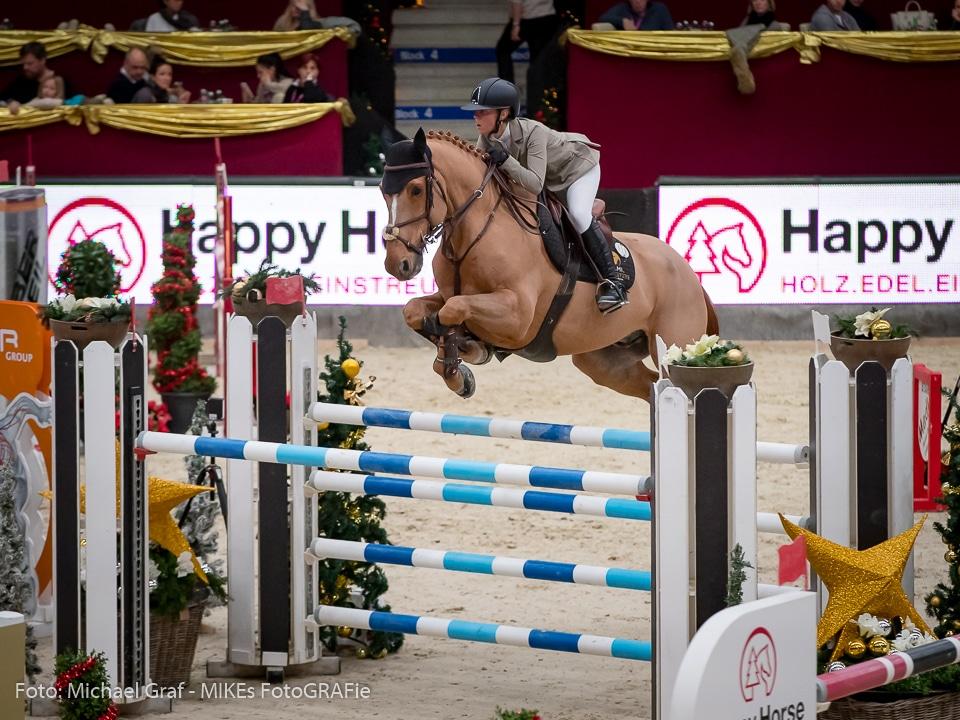 Giulia Levi (ITA) und Van Dutch wurden zweite im EY Cup Finale von Salzburg. © Michael Graf