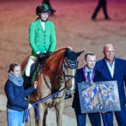 Rookie of the year 2019 Springen: Marie-Christine Sebesta vom Wiener Reitteam. © Daniel Kaiser