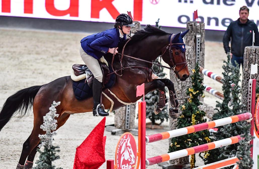 Finalsieg für Alexandra Linda Hornakova (SVK) und Casper Speed Jumper. © Daniel Kaiser