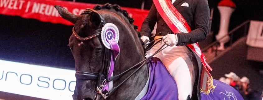 Die Chancen stehen gut, dass sich Isabell Werth bei der 6. Auflage des Dressur Weltcups von Salzburg wieder den Kürsieg holen wird. © EQWO.net