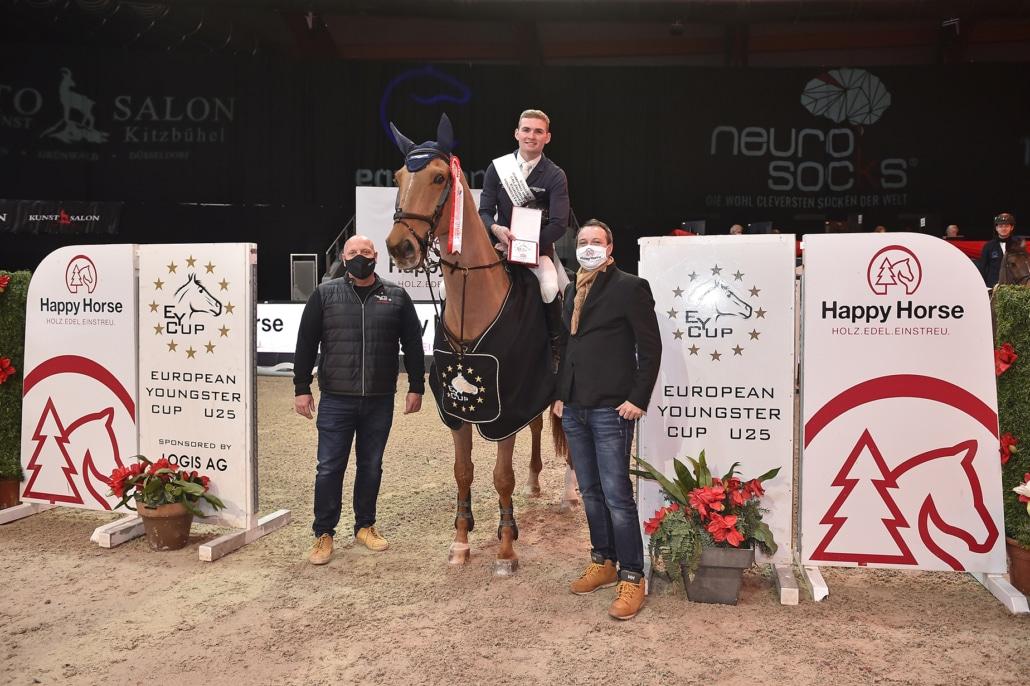 Siegerehrung im EY Cup Weltfinale presented by Happy Horse. © Sibil Slejko